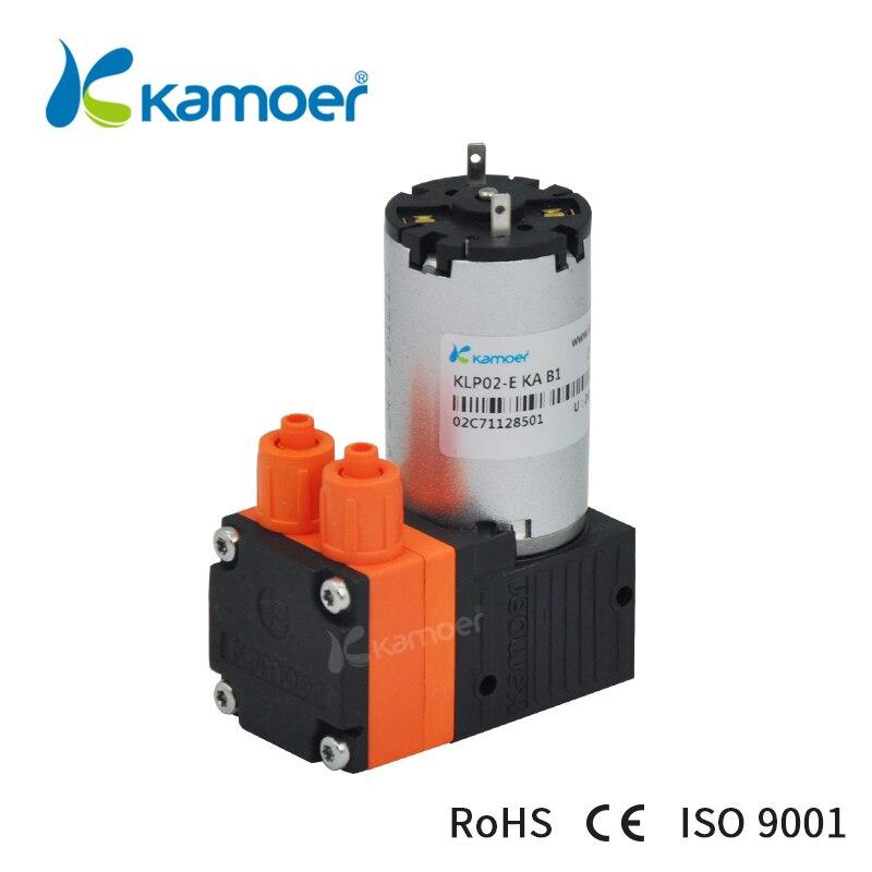 Kamoer KLP02 Diaphragm Pump 12/24V with brushed Motor single head kamoer klp02 mini brush diaphragm liquid pump 12v 24v diaphragm water electric pump with brush motor