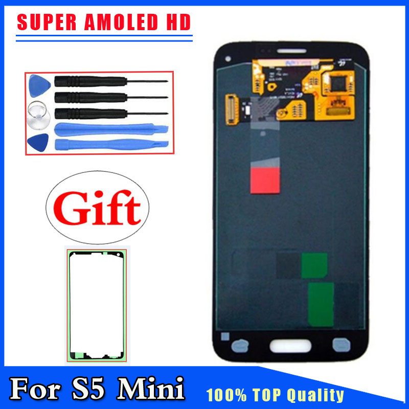 Super AMOLED HD For Samsung Galaxy S5 Mini G800 G800F G800H LCD Display Touch Screen Digitizer AssemblySuper AMOLED HD For Samsung Galaxy S5 Mini G800 G800F G800H LCD Display Touch Screen Digitizer Assembly