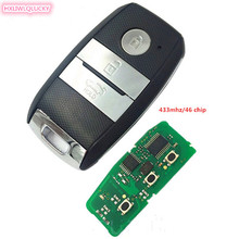 HXLIWLQLUCK smart key 434mhz  46 electronic chip 3 button for New Kia K5 Sportage-R keyless remote key free shipping