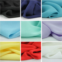 Multicolor 1 Meter Lot Width 1 5 M Whole Sale Most High End Chiffon Fabric For