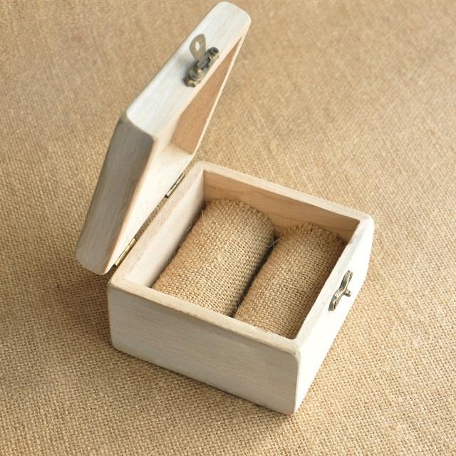 Personalized Wood Wedding Ring Box Personalized Box