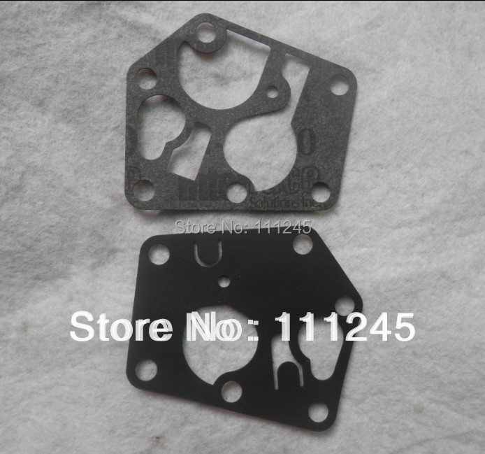 CARBURETOR DIAPHRAGM GASKET KIT 2 PCS PACK <font><b>BRIGGS</b></font>&STRATTON 95900 96900 98900 9C900 10A900 CARB REBUILD P/N <font><b>795083</b></font> 495770 image