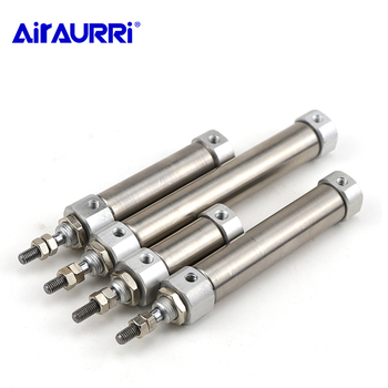 цена на CDJ2B Type Mini Pneumatic Cylinder Double Acting Single Rod 10/12/16mm Bore 10~150mm Stroke Air Cylinder CDJ2B10 CDJ2B16