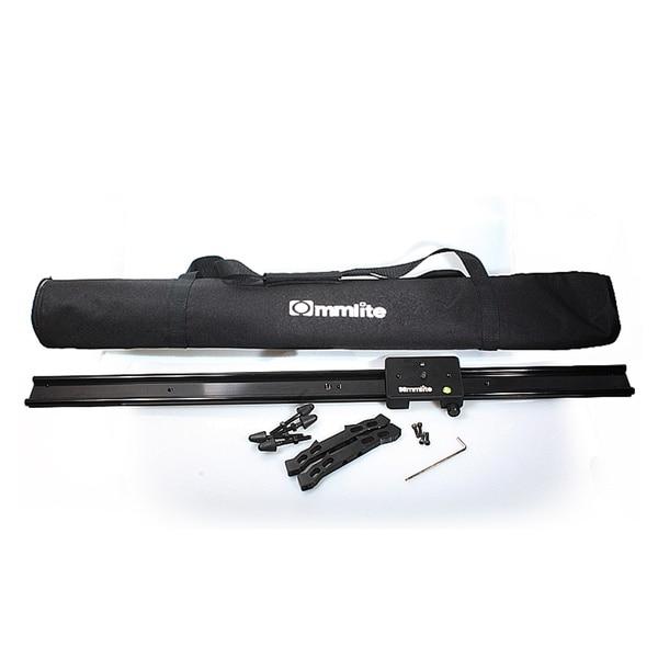 где купить Commlite 60cm 24'' Sliding-pad Video Track Slider Dolly Slider Video Stabilizer System for DSLR Camcorders дешево