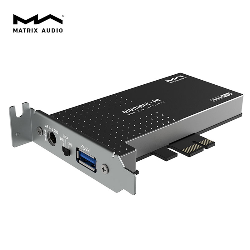 Matrix element H Hi Fi USB 3 0 Interface expansion Card Crystek femtosecond Clock