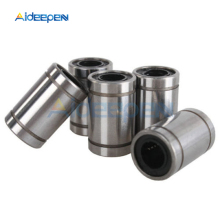 цена на 5Pcs/lot LM8UU Linear Bushing 8mm CNC Linear Bearings for Rods Liner Rail Linear Shaft Parts