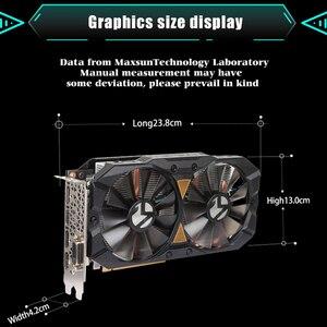 Image 5 - MAXSUN ekran kartı PC rx 580 2048SP büyük Mac artı 8G amd GDDR5 256bit 7000MHz 1168MHz PCI express X16 3.0 14nm rx580 ekran kartı
