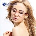 Alta qualidade armações de óculos de olho para as mulheres colorido quadro com lente clara oculos de grau feminino, óculos óculos de leitura wzm
