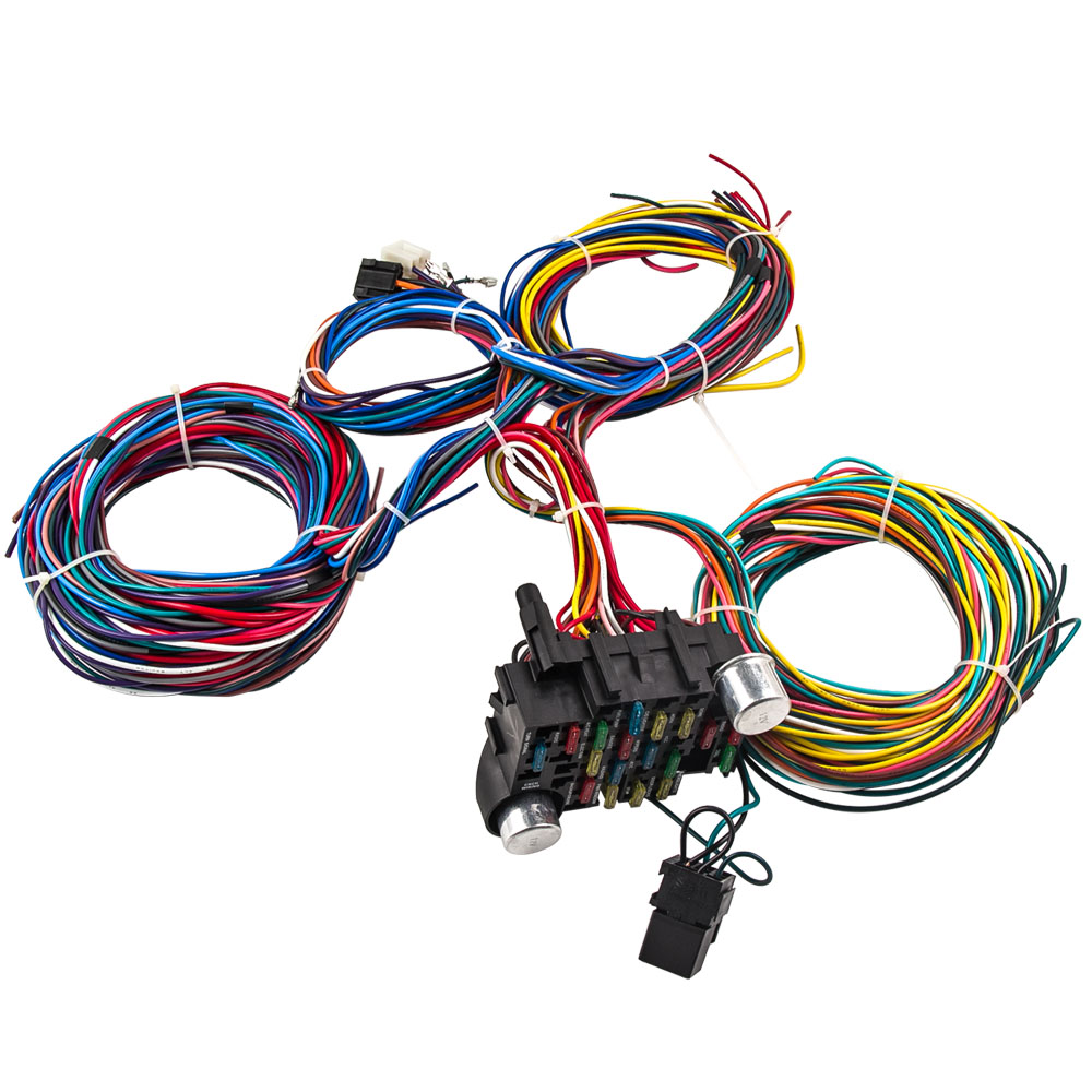 Wiring Harness Extra Wires - Wiring Diagram Home on