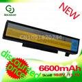 Golooloo 6600 mah da bateria do portátil para lenovo ideapad y450a y450g y550 y550a y550p y550 y550p 55y2054 l08l6d13 l08o6d13 l08s6d13