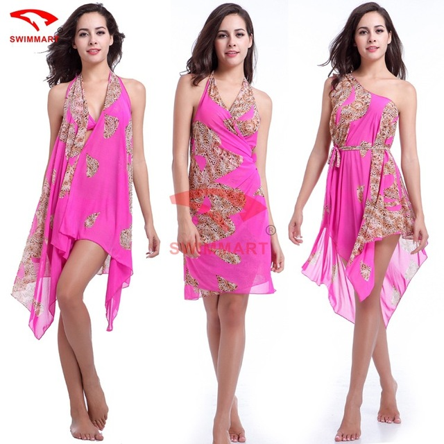 d8ae4889f81330 Summer Pareo Beach Sarongs Multi Wear Mesh Swimwear Beach Skirt Swimsuit  Bathing Suit Women Cover Up