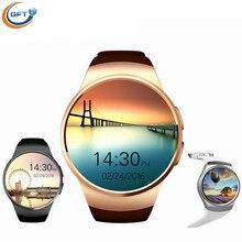GFT kw18 Smart Uhr Android Mit SMS Erinnern Pedometer Tragbare Geräte Smartwatch für Samsung android wear pulsmesser