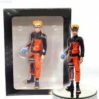 25cm Anime Naruto Shippuden Action Figure Grandista ROS Uzumaki Naruto Rasengan Manga Color Ver Model PVC Collection Brinquedos