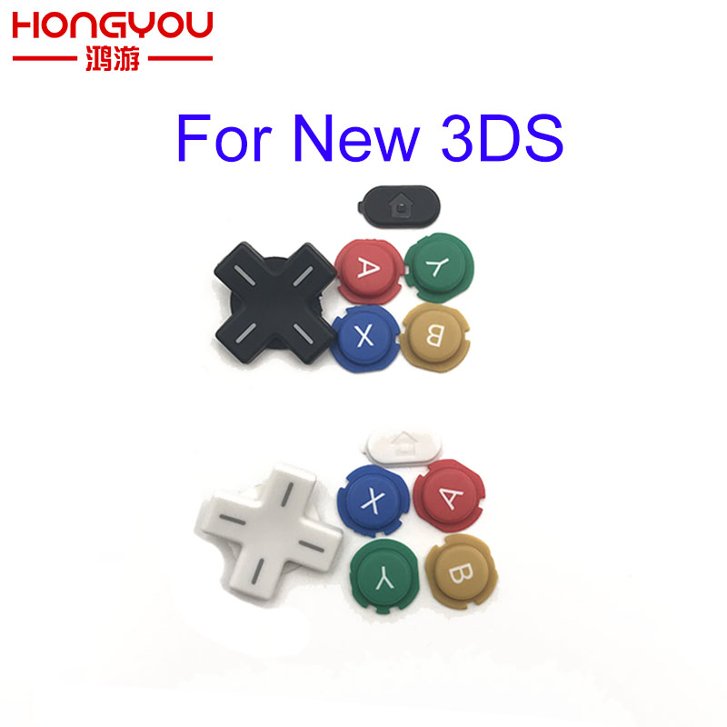 Original Replacement Complete D Pad ABXY Cross Buttons For New 3DS Controller Handle