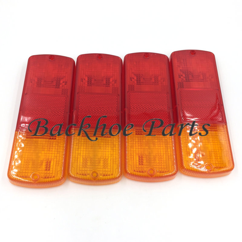 US $30 0 |4 PCS 700/37001 Rear Lamp Lens for JCB Spare Parts Backhoe Loader  JCB 3CX JCB 4CX-in Valves & Parts from Automobiles & Motorcycles on