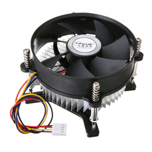 1pc Heatsink Fan Aluminium Heat Sink Ultra-quiet Cooler 12V For 30W 50W 100W High Power LED Bulb Computer Cooling aluminum plate with 12v fan for high power led diy aluminium heat sink cooling fan driver for 50w 100w 150w 200w led light