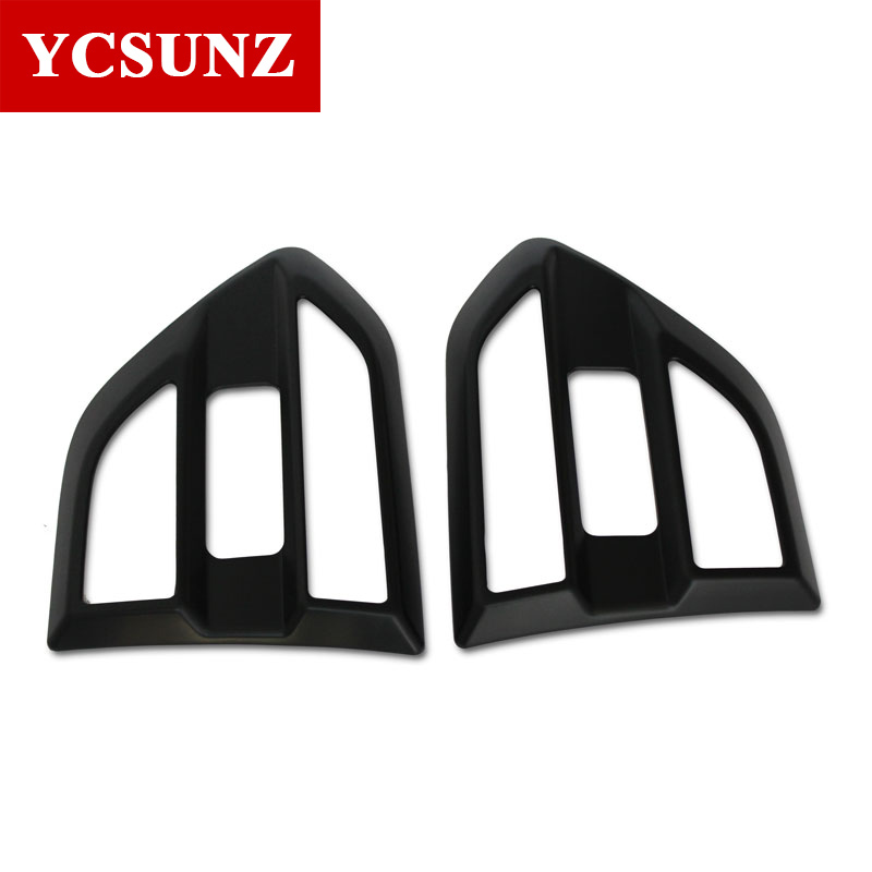 2016-2017 Suitable Ford Everest Accessories Black Side Fender Guard For FORD EVEREST Car Styling Compatible Everest Parts Ycsunz