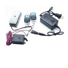 315 ポンド12ボルト/24ボルトミニドア磁気ロック+ mhzリモートコントローラ用磁気ロックキャビネットロック引き出しのためのアクセス制御システム