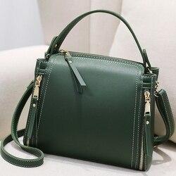 Маленькая мини-сумка-мешок женская сумка-мессенджер с длинным ремешком дизайнерские сумки через плечо зеленые сумки на плечо Женская мода ...