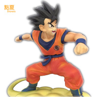 DIANXIA Anime Dragon Ball Son Goku Eight Generations Of Vertical Black Hair Action Figure Toys For Kids Children Dianxia263