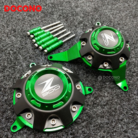 DOCONO Motorcycle Accessories Z900 CNC Engine Guard Engine Protect Cover For Kawasaki Z900 2017