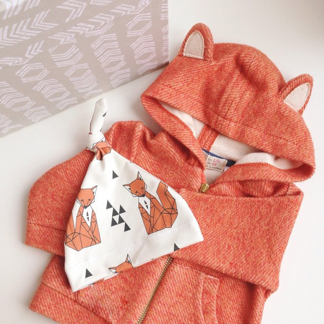 Baby Girls Coat Solid Children Outerwear Coats With Fox