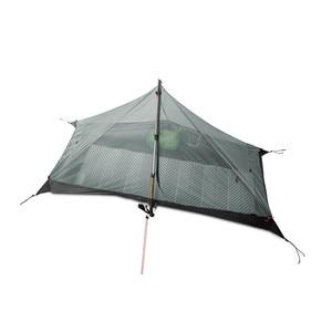 Image 4 - 3F UL 기어 Lanshan 1 텐트 Oudoor 1 인 초경량 캠핑 텐트 3 시즌 전문 15D Silnylon Rodless Tent
