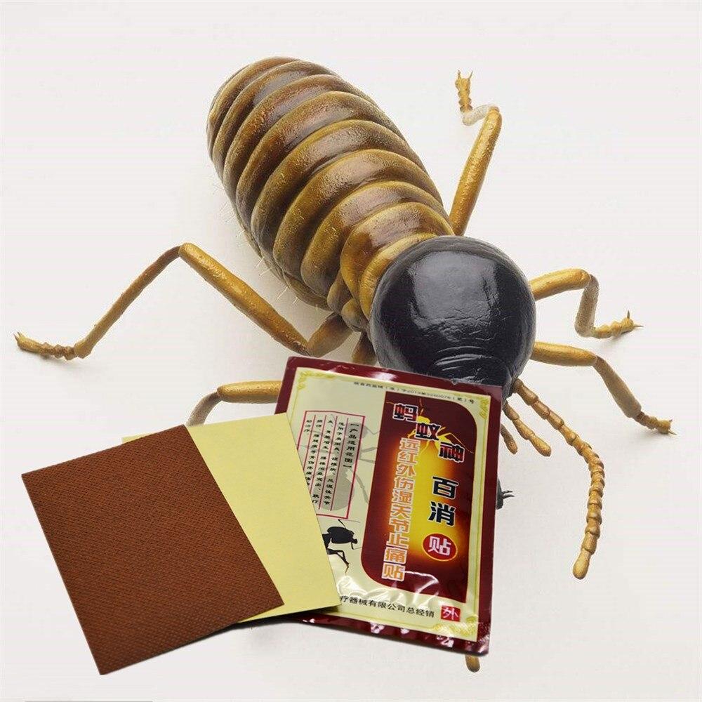 DISAAR 8PCS/bag Meridians Black Ant Essential oil Patch Plaster Assist treatment for Cervical Rheumatism Arthritis