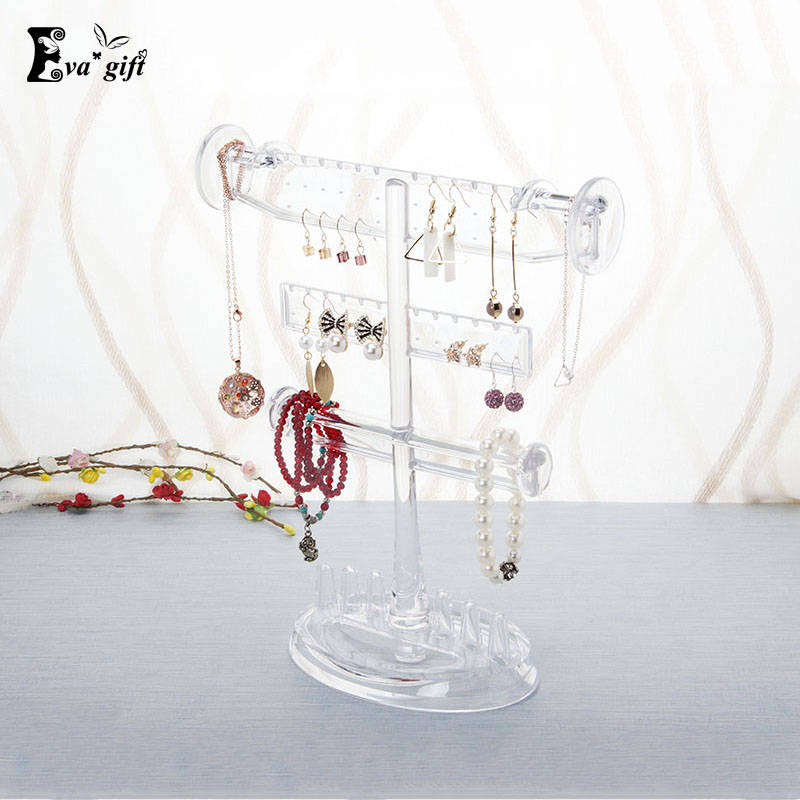 Creative Crystal Jewelry Storage holder Organizer Case for Jewelry Best Birthday Gift Ring Necklace Earrings
