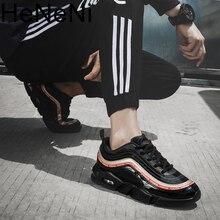 New arrival Men mesh Breathable Casual sneakers Fashion Autumn Men's vulcanize shoes Professional Training Designer Size 39-46