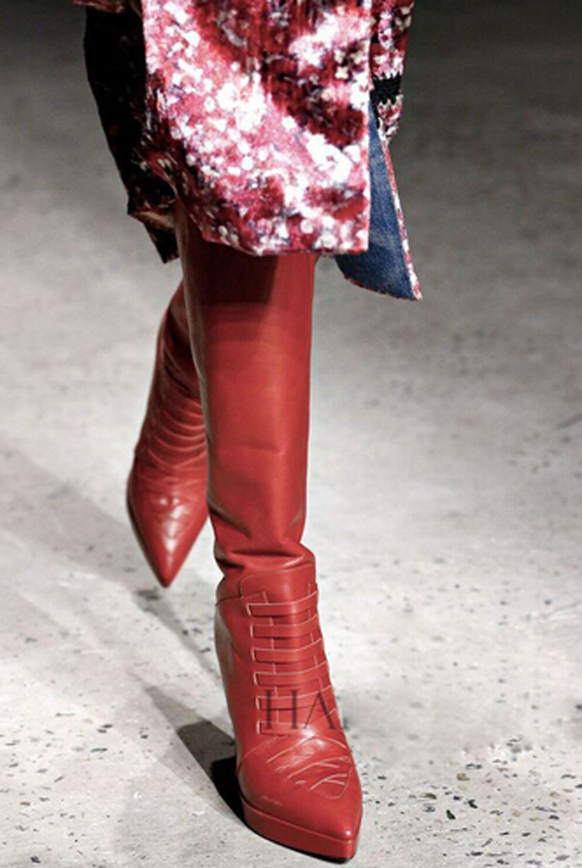 Popular Red Thigh High Boots Wedges-Buy Cheap Red Thigh High Boots ...