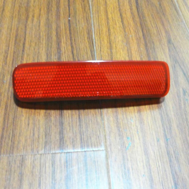 1 Pcs Left Side Red Rear Bumper Reflector Lamp for TOYOTA HIGHLANDER 2011-2013