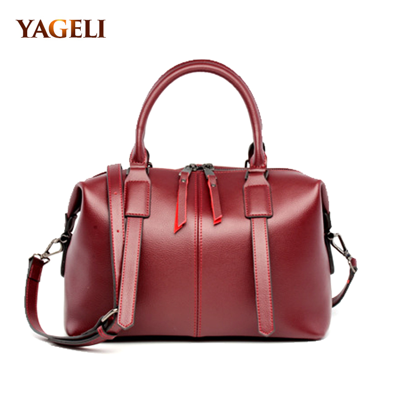 Real genuine leather women's handbags luxury handbags women bags designer famous brands tote bag high quality ladies' hand bags комод sometimes beautiful