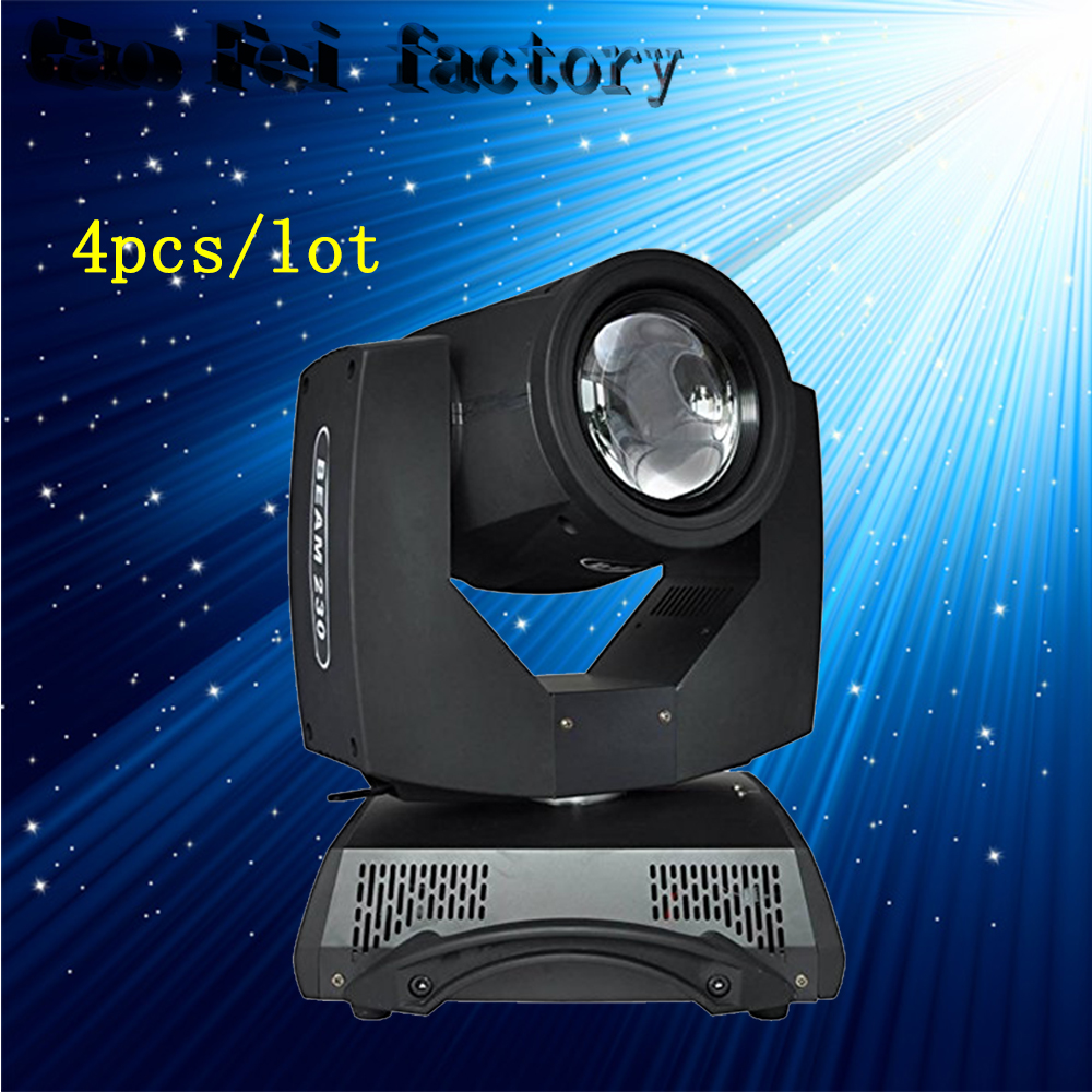 4Pcs/Lot 230W Moving Head Beam Lights Beam 7R Osram 230W Lamp Dj Moving For Stage Lighting Show стоимость