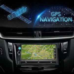 """Image 3 - جانسايت 7 """"2din راديو السيارة مشغل رقمي شاشة تعمل باللمس أندرويد 8.1 مشغل وسائط متعددة مرآة لينك Autoradio دعم كاميرا احتياطية"""