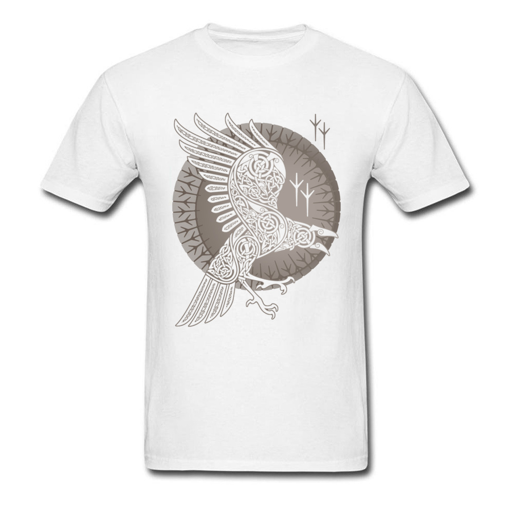 e0a0bffb Norse Raven T-shirt Mystery Graphic T Shirt Game Of Thrones Viking Crow  Clothes Men Tshirt Cotton Tops Black Tees