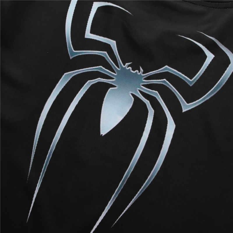 スパイダーマン 3D プリント tシャツ男性圧縮フィットネスメンズシャツスーパーヒーロートップスマーベルコスチューム半袖フィットネス Tシャツ