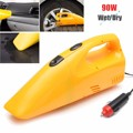 Portable 12V 90W Car Wet Dry Vacuum Cleaner Tire Inflator Pump Air Compressor Pump Tire Inflator Car Dust Collector Cleaning