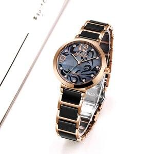 Image 2 - SUNKTA 2019 relojes de marca para mujer, relojes de lujo para mujer, reloj de pulsera de cuarzo, oro rosa, Montre para mujer regalo