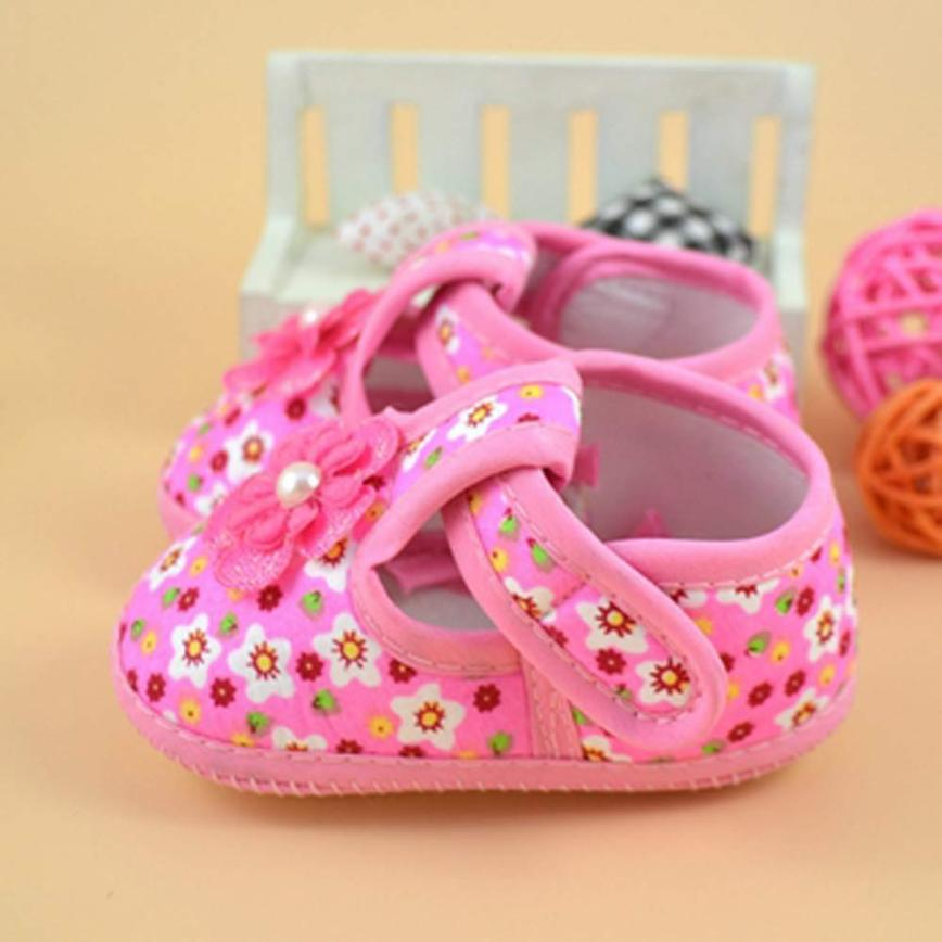 Lovely Baby Toddler Shoes Infant Princess Bowknot Dot Soft Sole Kid Girls Baby Band Crib Shoes Prewalker 0-18 Months 17dec29 Mother & Kids