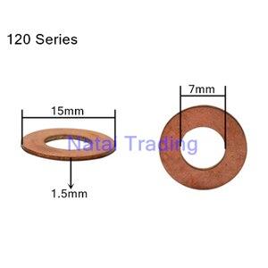 Image 3 - Common rail injektor düse kupfer pad dichtung für kraftstoff injektor dicht diesel pumpe reparatur werkzeug teile