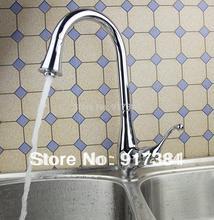 Бассейна и Кухня мойки Поворотный Chrome смесителя раковина кран BR-0216