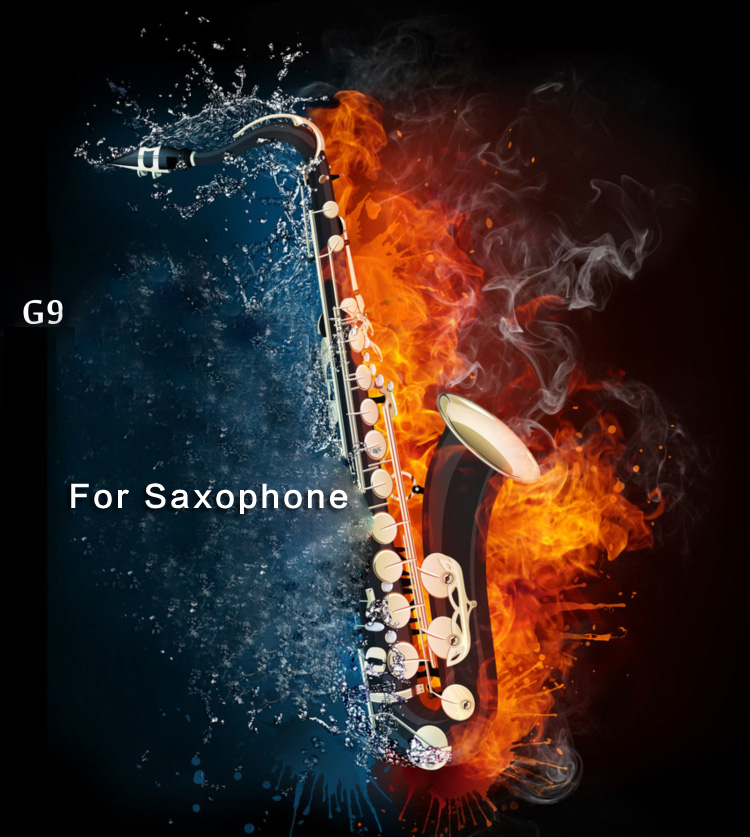 Musical Instruments Saxophone Orchestra Microphone Pickup Condenser Mic Female Screw Plug 3 pin 4 pin Saxophone Microphone Wired-in Microphones from Consumer Electronics    2