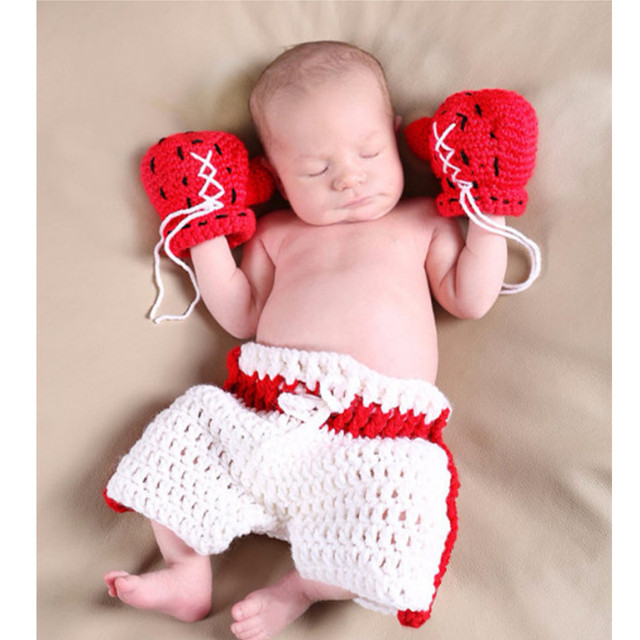 Newborn Baby Photography Props girl Boy Animal Pants Knit Hat Set Cute Baby Hand Made Crochet Costume Photo Shoot Clothes  5