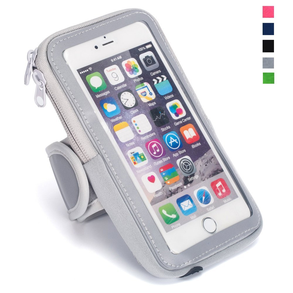 VOXLINK Universal Sport Armband Waterproof Case For iPhone 8/7/6/5s Samsung Galaxy S7 S6 Edge Xiaomi Huawei 4-4.9inch Phone Case