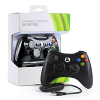 Hot Gamepad for XBOX360 Wirless Controller Gaming Joystick & PC Receiver Control Gamepads for XBOX 360 Battery Not Include
