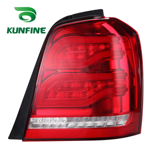 KUNFINE Pair Of Car Tail Light Assembly For TOYOTA HILANDER 2002 2003 2004 2005 2006 Brake Light With Turning Signal Light