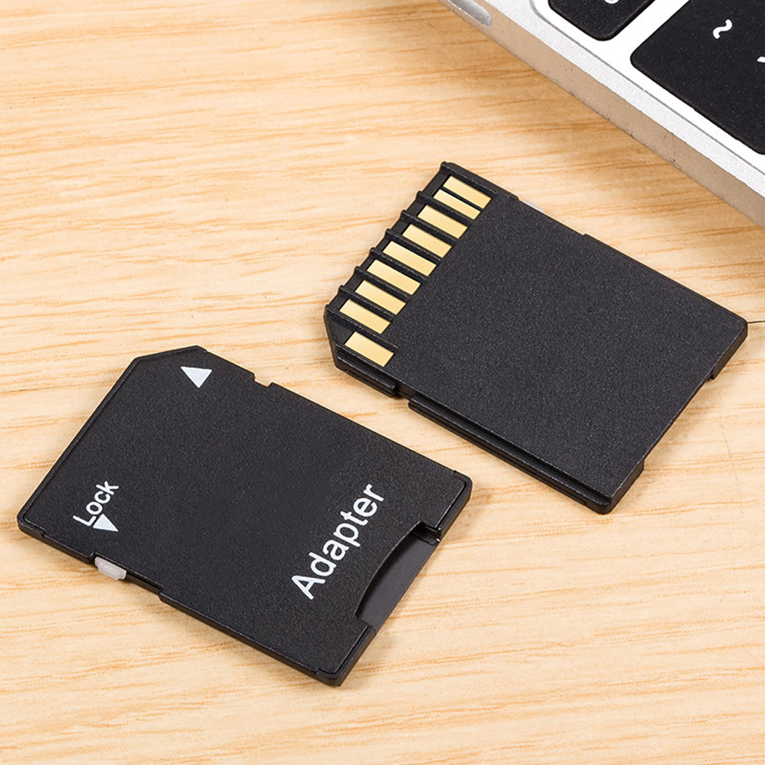 Image 3 - Etmakit  2PCS Hot Sale Popular Micro SD TransFlash TF to SD SDHC Memory Card Adapter Convert into SD Card-in Card Readers from Computer & Office