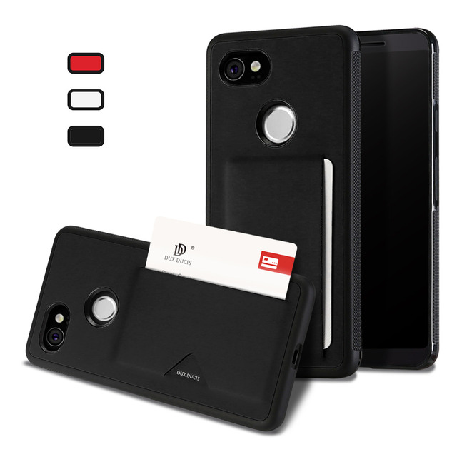 low priced 4404d 7da4c US $9.85 |Vintage PU Leather Card Case For Google Pixel 2 XL 360 Protection  Credit Card Slot Back Cover For Google Pixel 2 Anti Slip Capa-in Fitted ...