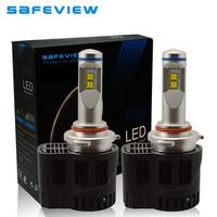P6 HB3 55W Car Replacement Headlight LED Bulb 10400LM Auto Parts Lamp 3000K 4000K 5000K 6000K